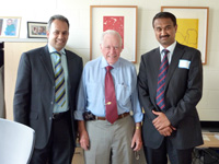 Mr. Pramod Achan with Dr Bill Harris